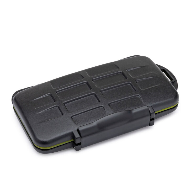 Koah Pro Rugged Memory Storage Carrying Case - fits up to 3 XQD/CFE & 6 SD Cards