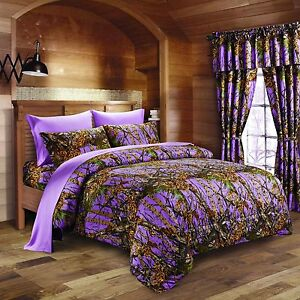 Queen Camo Bedding Set Ebay