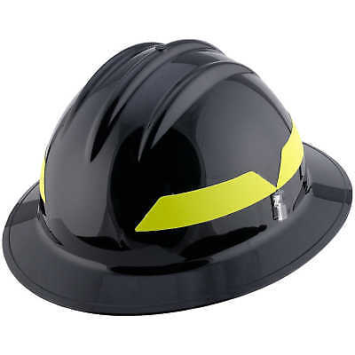 Black Hat Model Fh911h Bullard Wildland Fire Helmet With Self Sizing 6-point ...