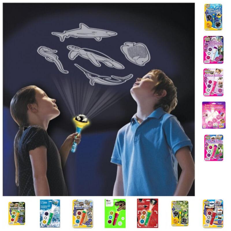 Tier Projektor Taschenlampe Tiere Lichtprojektor Kinder Natur Projektion Pferde