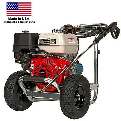 Gas Pressure Washer - Cold Water - 4200 Psi - 4 Gpm - Aluminum Frame - Honda Eng