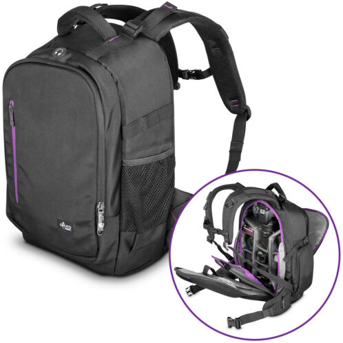 Large Camera Backpack Bag with Waterproof Cover for Canon Nikon by Altura Photo® -   84 - Large Camera Backpack Bag with Waterproof Cover for Canon Nikon by Altura Photo®