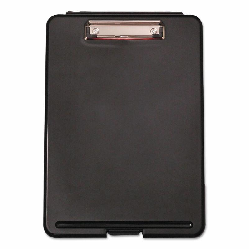 "Universal Storage Clipboard 1/2"" Capacity 8 1/2 x 11 1 Compartment Black 40318"
