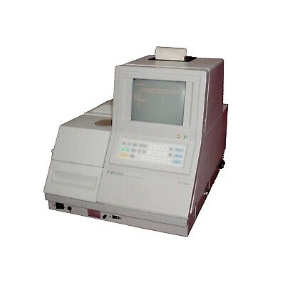 Hitachi F-2000 Microprocessor Controlled Compact Fluorescence Spectrophotometer