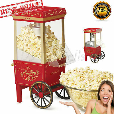 Commercial Popcorn Maker Machine 12-Cup Hot Air Upgraded - Pop Corn Machine