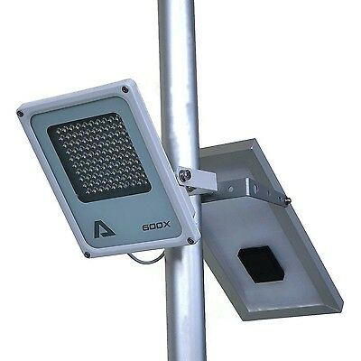 100 LED 3-Level Street Solar Power Light Outdoor Waterproof Garden Security Lamp