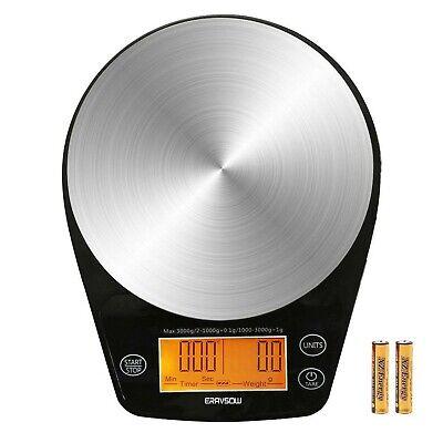 Digital Hand Drip Coffee Scale Stainless Steel Precision Sen