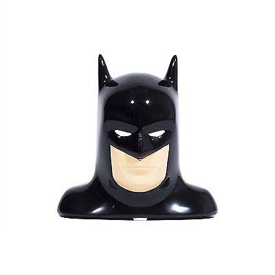 Licensed DC Batman 3D Shape Mini Ceramic Piggy Bank