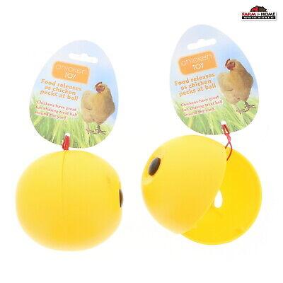 2 Chicken Feeder Ball New