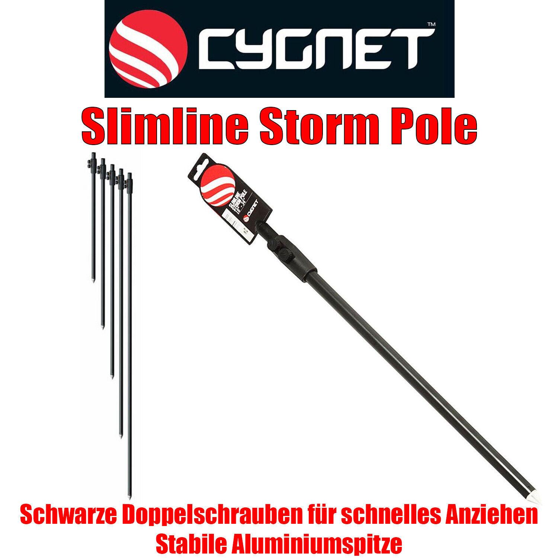 Cygnet Slimline Storm Pole Bankstick Rutenhalter Doppelschraube alle Größen