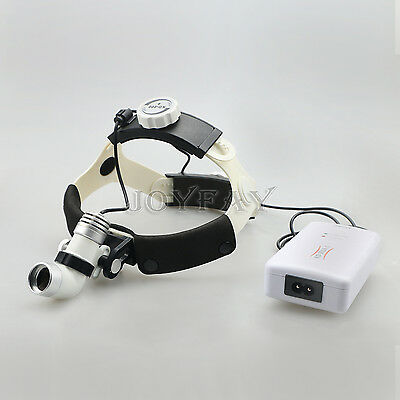 Led Medical Headlight Surgical Head Light Lamp 3 W Acdc Kd-202a-3 Us Shipping