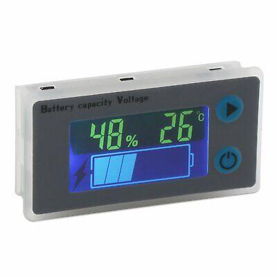 Battery Monitor DROK 10-100V Digital Battery Capacity Tester Percentage Level...
