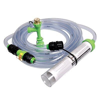 Python No Spill Clean & Fill Aquarium Maintenance System 25 FT Gravel Tank Vac