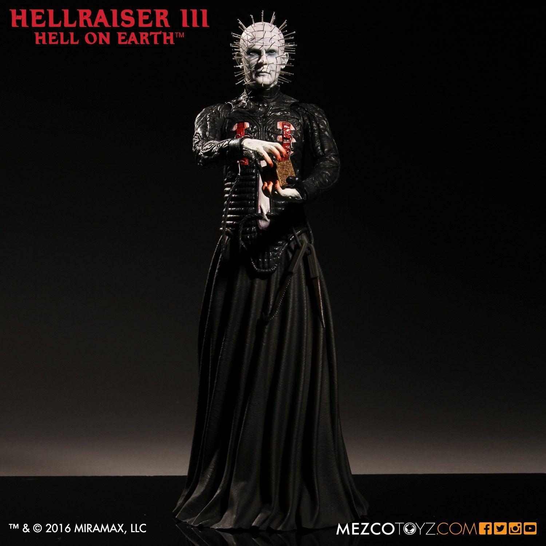 Mezco Toyz Hellraiser III 12 inch Vinyl Figure - Pinhead