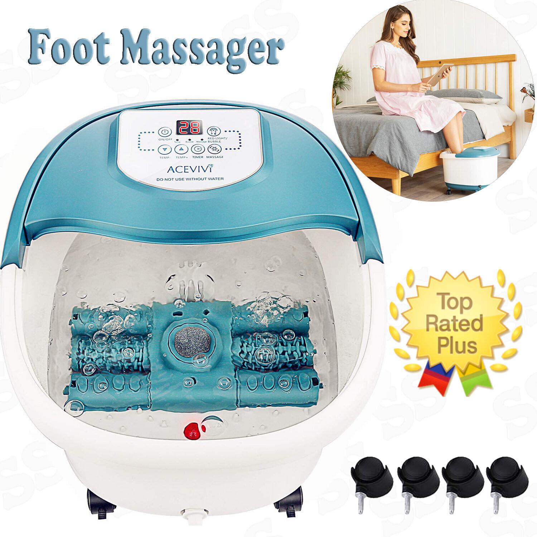 ACEVIVI Foot Massager Heat Shiatsu Heated Elecric Keading  M