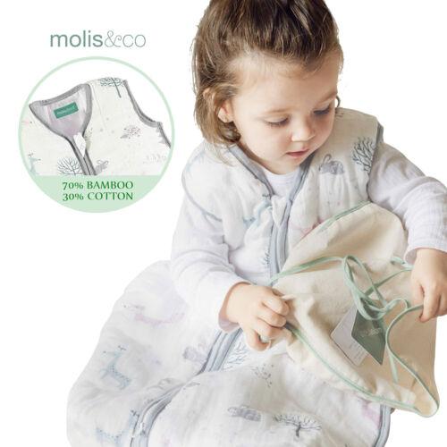 Baby Kids Sleep Sack Winter Wearable Blanket Bamboo Cotton Muslin Sleeping Bag