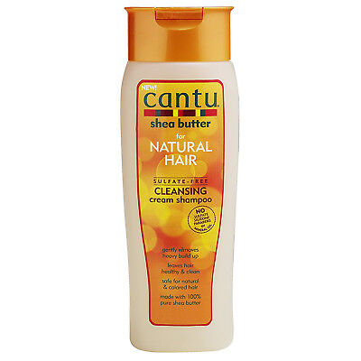 [CANTU] SHEA BUTTER NATURAL HAIR SULFATE FREE CLEANSING CREAM SHAMPOO 13.5OZ
