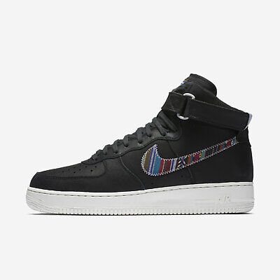 new arrival 06568 935b2 Nike Air Force 1 High 07 LV8 Men s 11 Black Basketball Athletic Shoes  806403 006