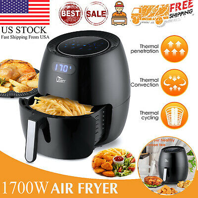 6.9qt Large Capacity Uten Air Fryer Oven 1700w 8-in-1 Led Display Touchscreen