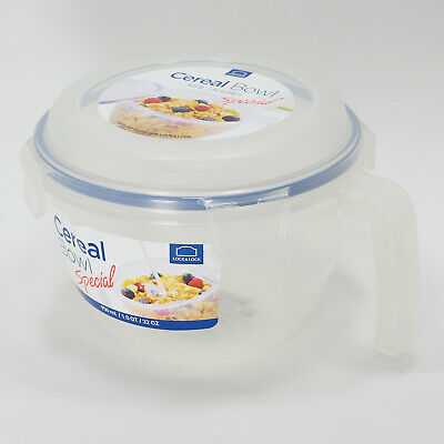 Lock&Lock Cereal & Snack Bowl Sealed Storage Container 32.1 oz Dishwasher Safe