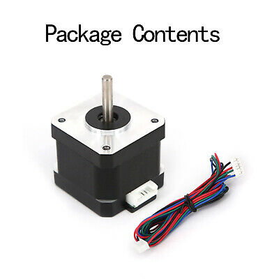 Nema 17 Stepper Motor 59ncm40oz.in 2a 11 Cable 42mm For 3d-printer Cnc Reprap