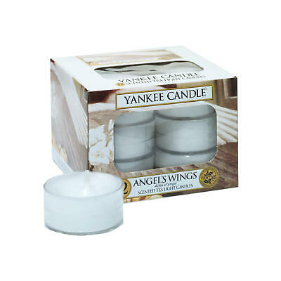 Yankee Candle Teelicht, Angel Wings, Duftkerze, Stövchenlicht, 12 - Licht Angel Wings