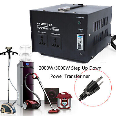 2000W 3000W Household Voltage Converter Step-up Down Power Transformer US Y8L2