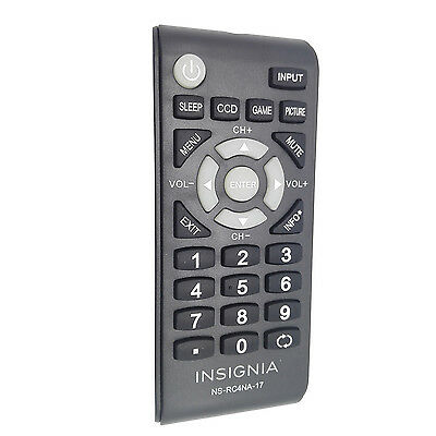 Brand NEW Insignia HD TV Remote Control NS-RC4NA-17 NSRC4NA17 NS RC4NA