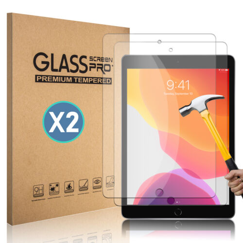 For iPad Mini Air Pro 3 4 5 6 7th 9.7 10.2 10.5 Tempered Glass Screen Protector