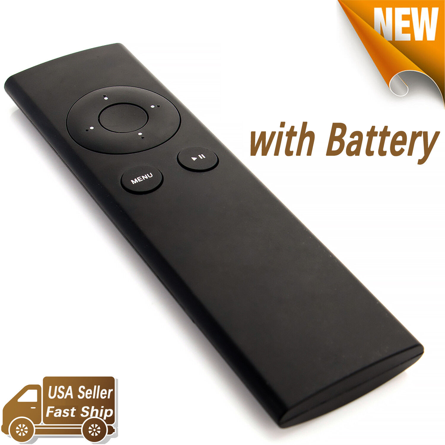 New Replacement Remote Control For Apple TV MC377LL/A Music