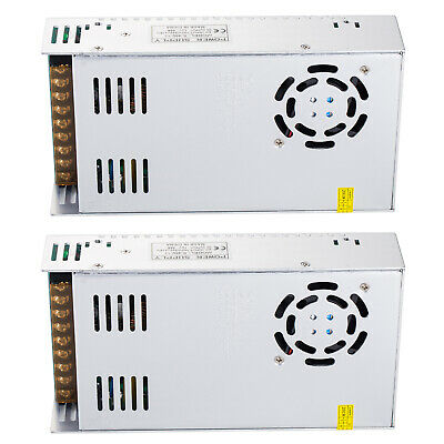 Elenker Pack 2 Led Regulated Switch Power Supply Transformers 12v 40a 480w