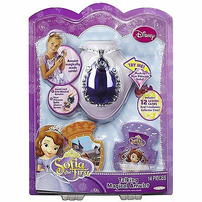 Disney Sofia the First Talking Magical Amulet 14 Pieces