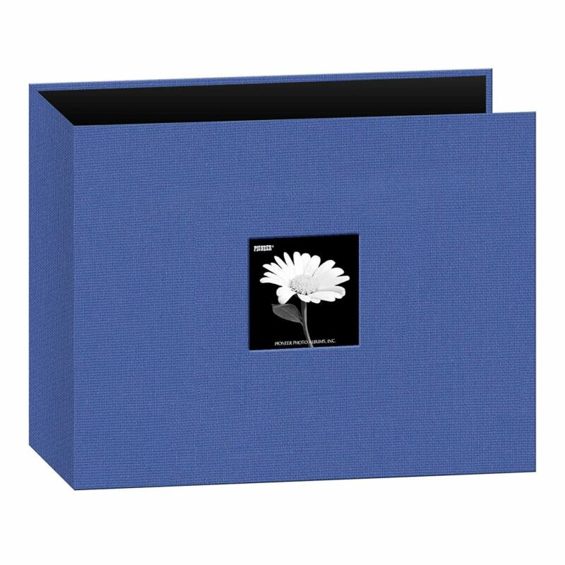 """Pioneer Fabric 3-Ring Binder Album for 12""""x12"""" scrapbook pages Blue"""