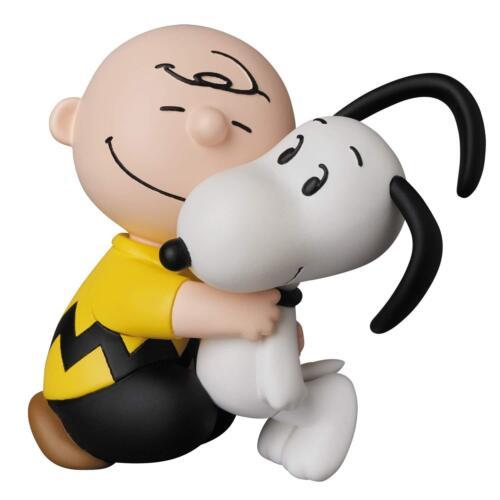 Medicom UDF-431 Ultra Detail Figure Peanuts Series 8 Charlie Brown & Snoopy JP