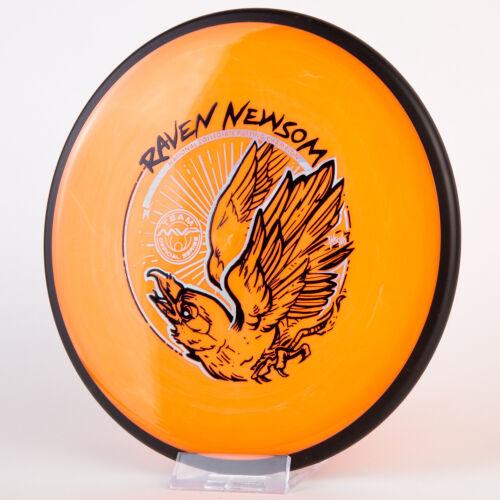 New MVP Raven Newsom Tour Series Neutron Reactor 178g Silver Holo Foil Disc Golf