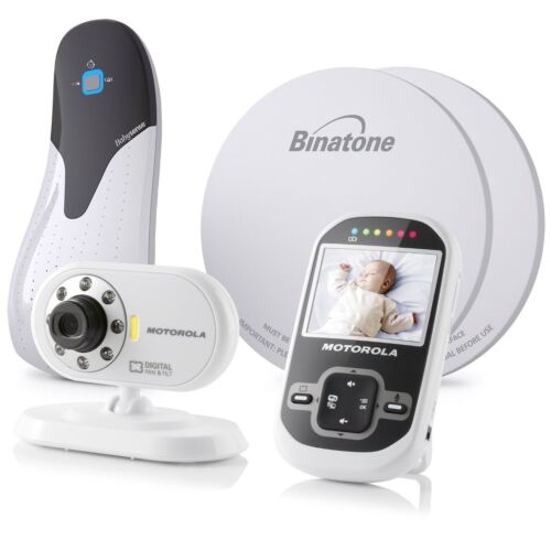 MOTOROLA MBP26 Wireless Digital Video Monitor +BABYSENSE 5 B