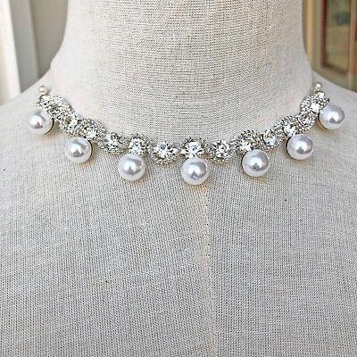 Perle Kristall Kette Strass Kostüm Applikation für Armband Hochzeit Kleid Motiv