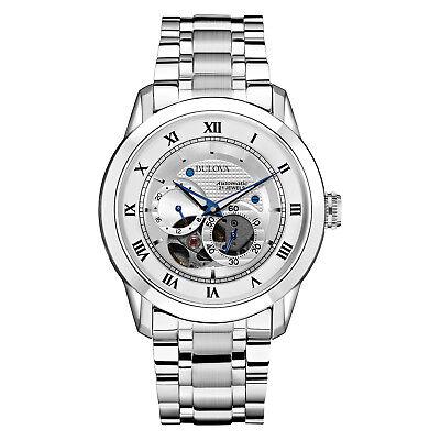 Bulova BVA Series Men's 96A118 Automatic Exhibition Caseback 42mm Bracelet Watch