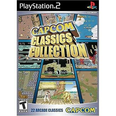 $11.48 - Capcom Classics Collection Playstation 2 PS2 new and Sealed