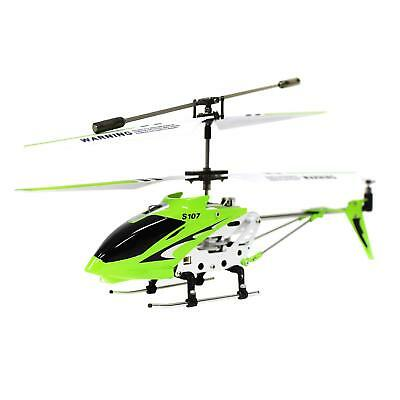 Used,  SYMA S107G Gyro RC Helicopter S107 Infrared 3CH Mini Alloy Metal Heli - Green for sale  Chino