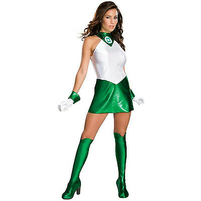 Women's Green Lantern Secret Wishes Sexy Adult Costume Small 6-9 - Green Lantern Women Costume