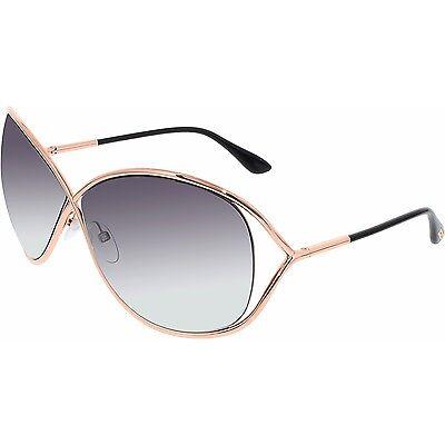 Tom Ford Sunglasses Miranda TF130 28B  smoke lenses authentic!