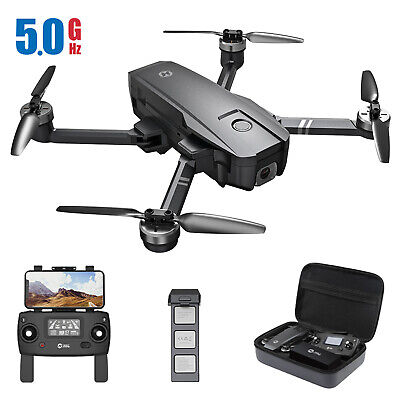 Holy Stone HS720 GPS Drone with 4K Camera 5G Wifi FPV Brushless Quadcopter+Case