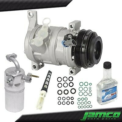 New AC Compressor Kit A/C for Chevy Suburban Silverado Tahoe - Without Rear Only