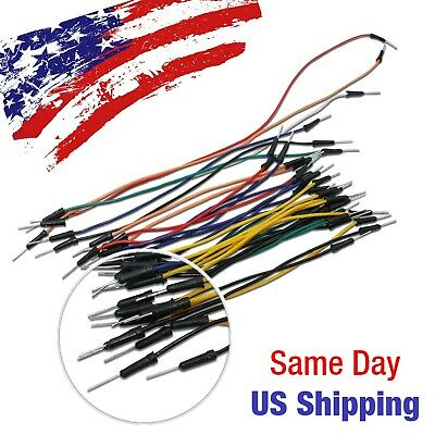 Jumper Wire Line Male To Male Arduino Breadboard Pic Avr Testing 30pcs Usa Ship