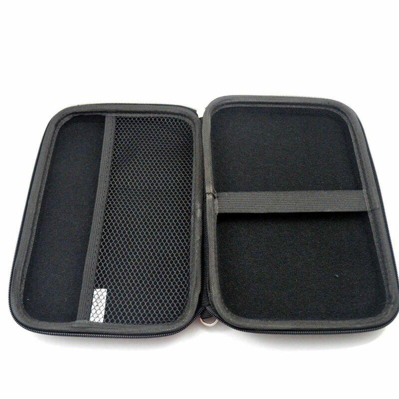 7 Inch Black Hard Shell Carrying Case For Garmin DriveSmart 65 / 61 LMT-S GPS