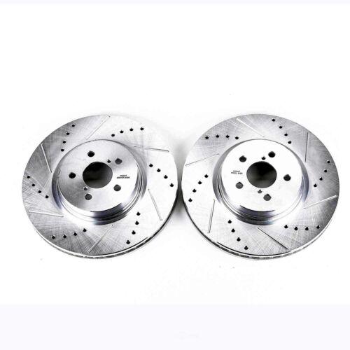 Max Brakes Front /& Rear Premium OE Rotors and Metallic Pads Brake Kit TA032743-5