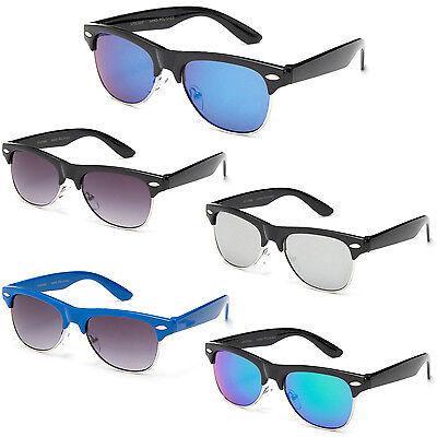 Kids Flash Lens Retro Classic Style Sunglasses UV400 Lead Free Vintage  (Cheap Vintage Eyewear)