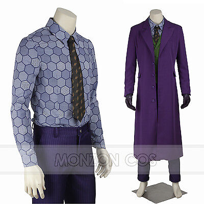 The Dark Knight Joker Heath Ledger Cosplay Costume Halloween Costume](Heath Ledger Joker Costume Halloween)
