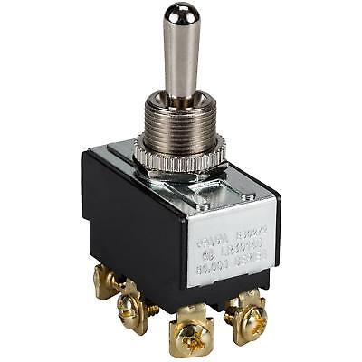 Philmore 20a Bat Handle Momentary Toggle Switch Dpdt On-off-on Heavy Duty
